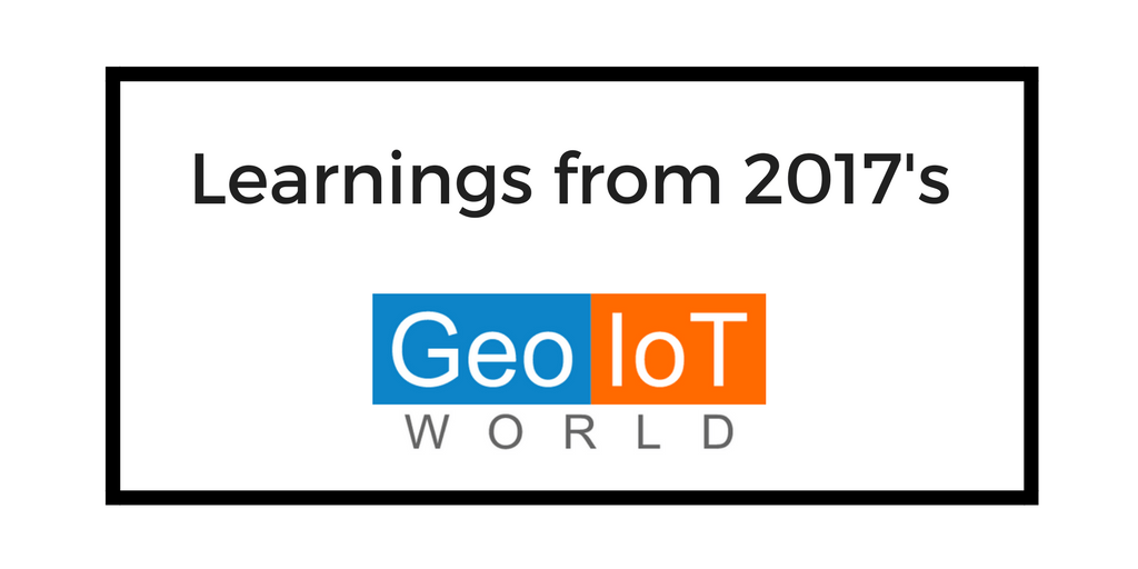 Geo IoT World 2017 header