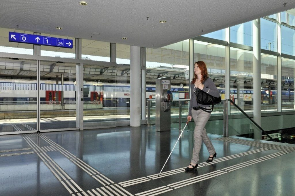indoor navigation for the visually impaired tactile paving